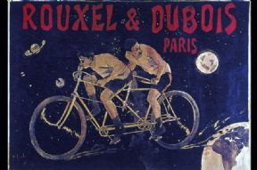 Vintage French advertising poster - Rouxell and Dubois